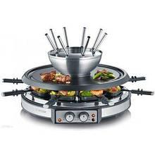 Электрогриль SEVERIN RG 2348 raclette-fondue kombination