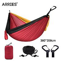 Гамак из парашютной ткани 300*200 см TNН300 Sports Travel Красный