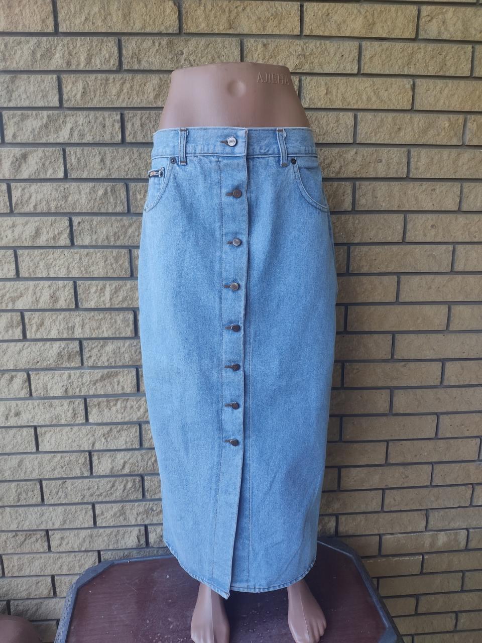 Юбка джинсова коттоновая, есть большие размеры NICOWA