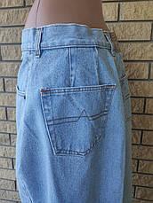 Юбка джинсова коттоновая, есть большие размеры NICOWA, фото 3
