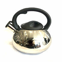 Чайник из нержавеющей стали со свистком Benson BN-715 3 л