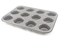Форма для кексов с тефлоновым антипригарным покрытием