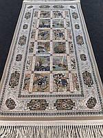 Ковровая дорожка 80х150 см кремовая с изображением картинок производства Иран