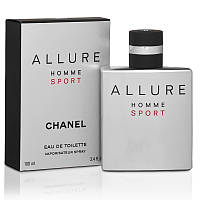 Chanel Allure Homme Sport - чоловіча туалетна вода (Мужская туалетная вода Шанель Аллюр Хоум Спорт) (Реплика)