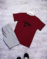 Мужской летний комплект (шорты и футболка) N!KE AIR