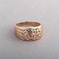 Золотое кольцо с алмазной гранью КП10211A