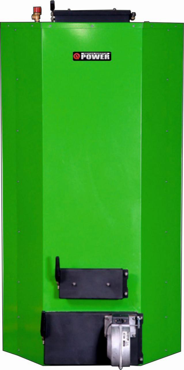 Универсальный твердотопливный котел Q-POWER QB 7-25 (до 250м2)
