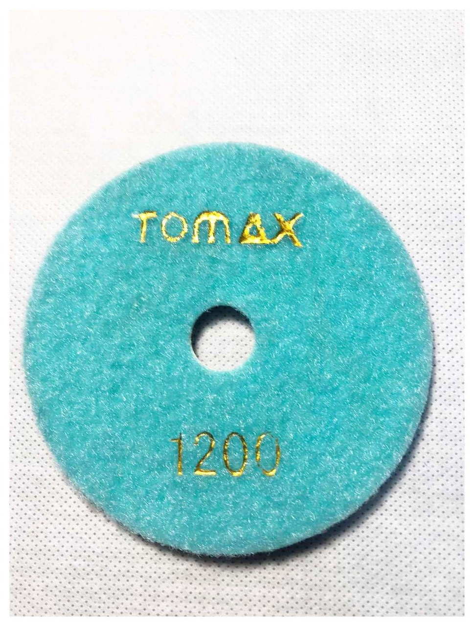 Гибкий алмазный круг (черепашка), TOMAX, Ø100 ММ, зернистость 1200