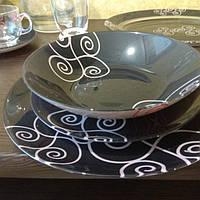 Набір столового посуду 19 предметів із стравою Luminarc Simply Marah (N1186)