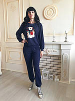Спортивный костюм женский модный спортивный костюм с мишкой 2020 Спорт