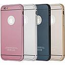 Чехол-бампер металл + пластик накладка для Apple iPhone 6 / 6s (silver), фото 2