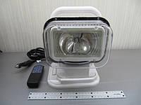 Поисковый прожектор CH-001HID35W ,ксенон  35Вт, радиоуправляемый на магните в белом корпусе, фото 1