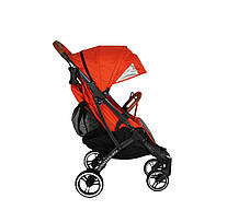 Прогулочная коляска Yoya Plus PRO Premium 2020 Красная оранжевая, фото 3