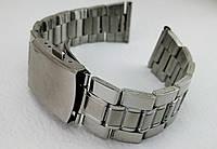 Ремешок, браслет для часов 18/20/22 мм нержавеющая сталь, металлический, 18 мм