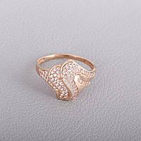 Золотое кольцо в виде змеи КП1637