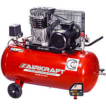 Воздушный компрессор AIRKRAFT AK100-360T-380-ITALY
