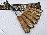 Подарочные Шампуры Forest В Чехле Из Плотной Ткани 6шт
