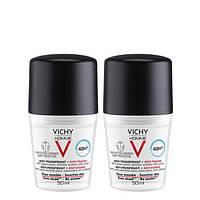 Шариковый дезодорант против белых и желтых пятен на одежде Vichy Deo Anti-Transpirant 48H