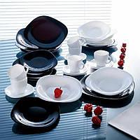 Столовий сервіз чорно-білий Luminarc Carine Black/White 30 предметів (N1500)