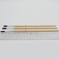 Кисть для рисования пони № 10 кисточка для рисования стандарт № 10 пони