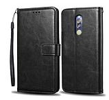 Чехол - книжка Xiaomi Redmi Note 8T с силиконовым бампером и отделением для карточек Цвет чёрный, фото 2