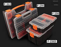 Пластмасовий переносний ящик для інструментів 220 х 155 х 60мм F-156