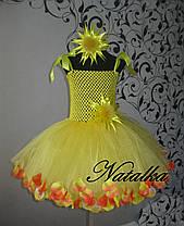 """Карнавальна сукня-спідниця з фатину """"СОНЕЧКО"""", фото 3"""
