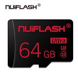 Карта памяти для планшета и телефона Micro SD NUIFLASH 64 Gb class 10 High Speed, фото 3