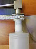 Дозатор диспенсер врезной для моющего средства нержавейка, фото 3