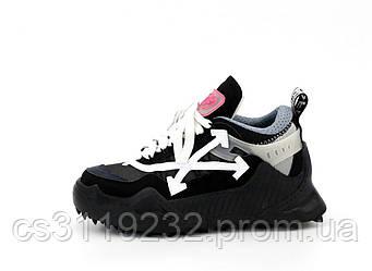 Женские кроссовки OFF-White ODSY - 1000 Sneaker (черный)