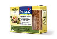 Хлібці із злаків з оливками та італійськими травами NORDIC 100г, (14шт/ящ)