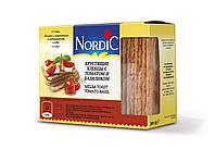 Хлібці із злаків з томатами і базиліком NORDIC 100г, (14шт/ящ)