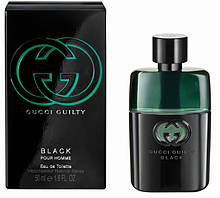 Gucci Guilty Black 90 мл туалетна вода для чоловіків (мужская туалетная вода Гуччи Гилти Блэк) (Реплика)