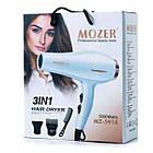 ОПТ Профессиональный фен для волос MOZER MZ-5918 3 в 1 5000  2000W, фото 2