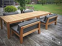 """Комплект мягкой мебели """"Нельсон"""", комплект деревянной мебели , стол и кресла, комплект обеденной мебели"""