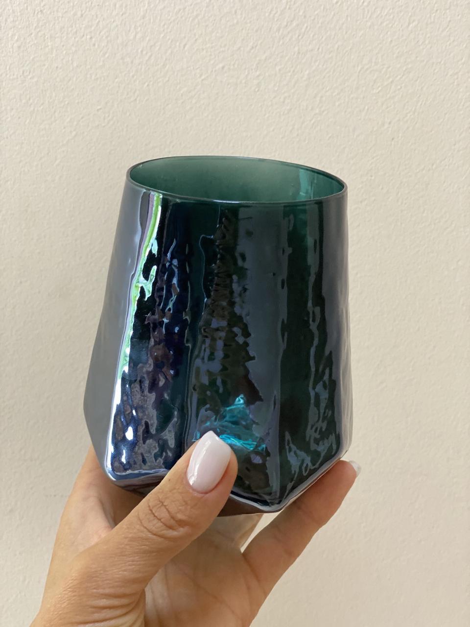"""Набор стаканов """"Зеркальная бирюза"""" 500 мл 4 шт 374025-1"""