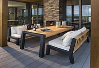 """Комплект мебели """"Натан"""", комплект мягкой мебели, комплект деревянной мебели, обеденный комплект"""