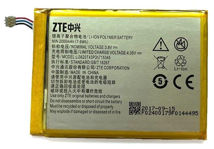 Аккумуляторная батарея ZTE Li3820T43P3h715345 оригинал