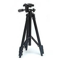Штатив для фотоаппарата трипод 3120A Black с чехлом