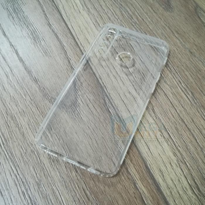 Силиконовый чехол KST для Realme 5 Pro с защитой от пыли и ударов. Прозрачный