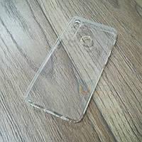 Силиконовый чехол KST для Realme 5 Pro с защитой от пыли и ударов. Прозрачный, фото 1