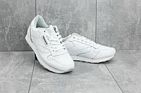 Мужские кроссовки искусственная кожа весна/осень белые Classica G 9168 -1, фото 1
