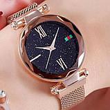 Женские наручные часы Starry Sky Watch на магнитной застёжке Розовый, фото 3
