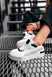 Женские кроссовки Puma Cali Sport Heritage White (белый)