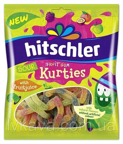 Жевательные конфеты Hitschler Sour  Kurties , 80  гр