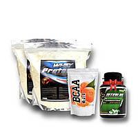 4 кг сывороточного протеина78% + ВСАА 4:1:1 + ТРИБУЛУС В ПОДАРОК!