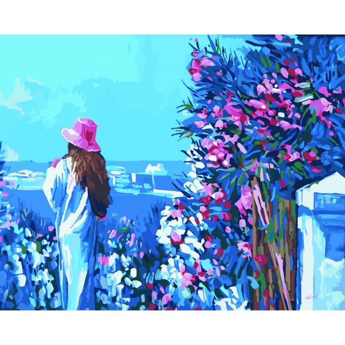 """Картина по номерам Идейка """"Прогулка по набережной"""" 40х50см KHO2119"""