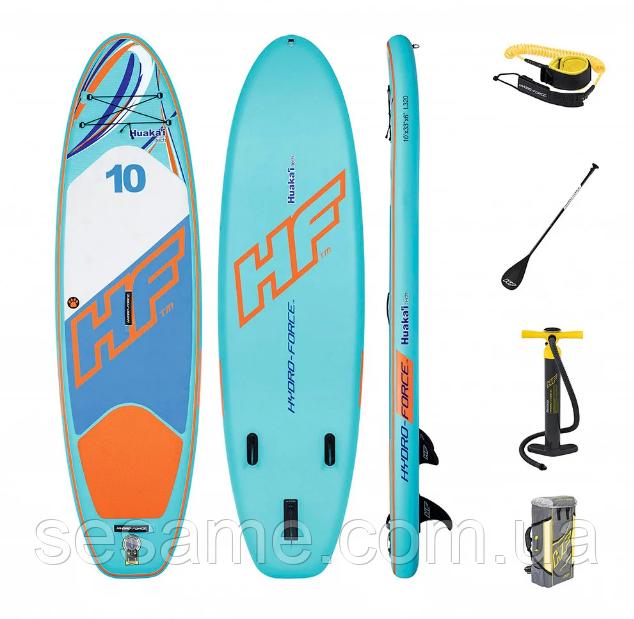 Доска для САП серфинга Bestway SUP-БОРД HuaKa'i 65330 Надувная доска Hydro-Force