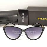 Жіночі сонцезахисні окуляри BvLgari овальні Булгарі Модні 2020 Стильні Брендові репліка, фото 5