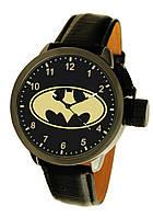 Часы мужские наручные Бэтмен, Batman, кварцевый механизм, черные